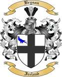 Bryson Family Crest from Ireland2