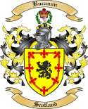 Bucanan Family Crest from Scotland