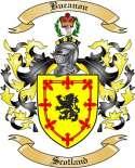 Bucanon Family Crest from Scotland
