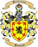 Buchannan Family Crest from Scotland