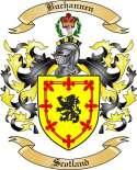 Buchannen Family Crest from Scotland