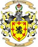 Buchannon Family Crest from Scotland