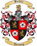 Buchler Family Crest from Germany