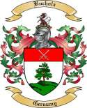 Bucholz Family Crest from Germany