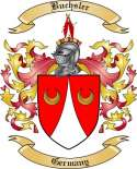 Buchsler Family Crest from Germany