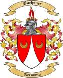 Buchsner Family Crest from Germany