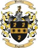 Buckler Family Crest from England