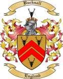 Bucknall Family Crest from England