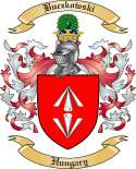 Buczkowski Family Crest from Hungary