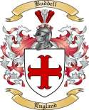 Buddell Family Crest from England