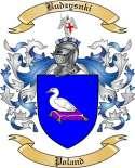 Budzysnki Family Crest from Poland