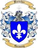 Buescher Family Crest from Germany
