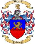 Bujara Family Crest from Lithuania