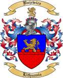 Bujewicz Family Crest from Lithuania