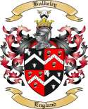 Bulkeley Family Crest from England