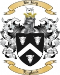 Bulkley Family Crest from England