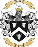 Bulkly Family Crest from England