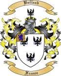 Bullard Family Crest from France
