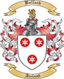 Bullard Family Crest from Ireland