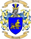 Buloch Family Crest from Germany