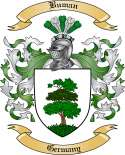 Buman Family Crest from Germany