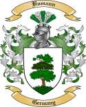 Bumann Family Crest from Germany