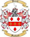 Bunch Family Crest from Scotland2