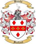 Bunche Family Crest from Scotland2