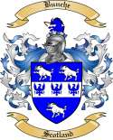 Bunche Family Crest from Scotland