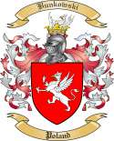 Bunkowski Family Crest from Poland