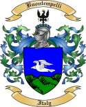 Buontempelli Family Crest from Italy