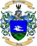 Buontempi Family Crest from Italy