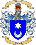 Burak Family Crest from Poland