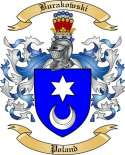 Burakowski Family Crest from Poland