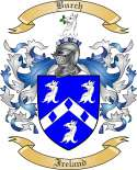 Burch Family Crest from Ireland