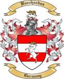 Burchardus Family Crest from Germany