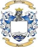 Burciaga Family Crest from Spain