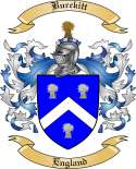 Burckitt Family Crest from England