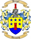 Burgel Family Crest from Germany2