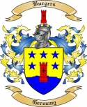 Burgers Family Crest from Germany2