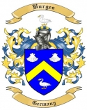 Burges Family Crest from Germany