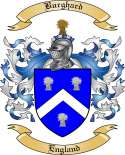 Burghard Family Crest from England