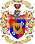 Burgos Family Crest from Spain
