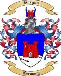 Burgun Family Crest from Germany