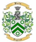 Buris Family Crest from England