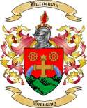 Burneman Family Crest from Germany
