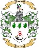 Burnett Family Crest from Scotland