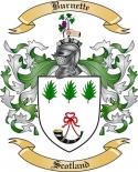 Burnette Family Crest from Scotland
