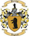 Burnige Family Crest from England