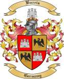 Burris Family Crest from Germany